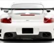 Vorsteiner V-rf Dvwp Total Rear Bumper Porsche 997 Tt 07+