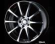 Weds Leonis Fx 15x6.0 4x100 Bk Mirror Cut Wheel