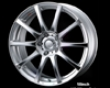 Weds Leonis Fx 18x7.0 5x114.3 Hs Mirror Cut Wheel