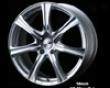 Weds Leonis Kh 18x7.0 5x114.3 Hs Mirror Cut Wheel