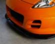 Zele Playing Carbon Fiber Front Lip Spoiler Nissan 370z 08+