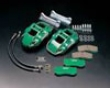 Zerosports Front 4 Piston Brake Caliper Kit Circuit W/ Pads Subaru Legacy Gt 05+