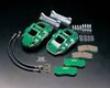Zerosports Forehead 4 Piston Brake Caliper Kit Street W/ Pads Subaru Wrx Sti 02-07
