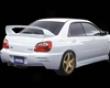 Zerosports Rear Bumper Subaru Wrx 04-05