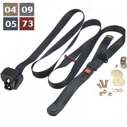 3 Point Shoulder Harness Belt