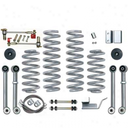 3.5 Inch Zj Super Flex Suspension Scheme By Rubicon Express