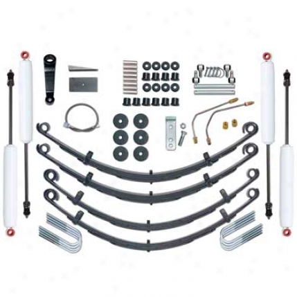 4 Inch Yj Standard Suspension System At Rubicon Express