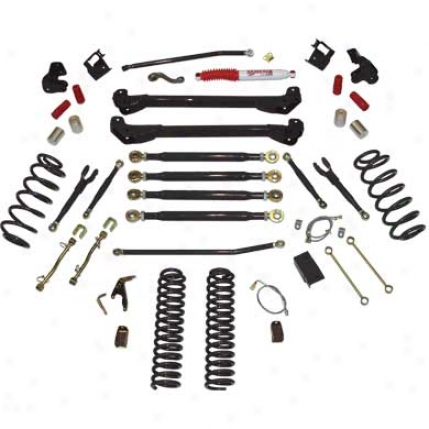 4 Inch,rock Ready Long Arm Suspension System With Shocks From Skyjacemr