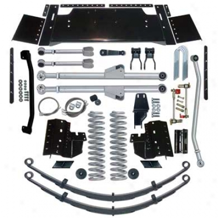 5.5 Inch Extreme-duty Long Arm Suspension System By Rubicon Expresss