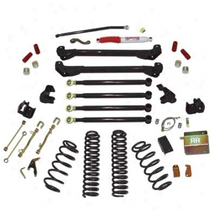 6 Inch Rock Ready Suspension System With Shocks By Skyjacker