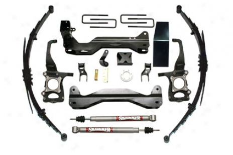 6inch Suspension Kit With Rear Springs