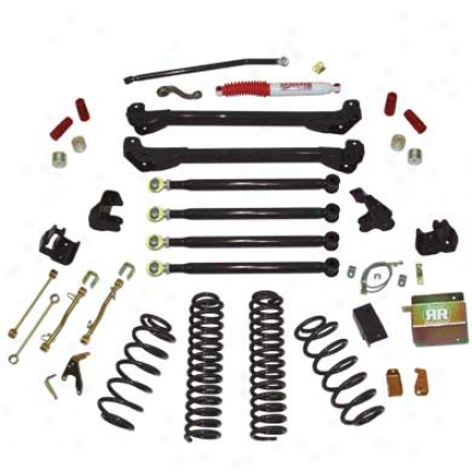 8 Inch Defence Ready Long Arm Suspension System With Shocks By Skyjacker