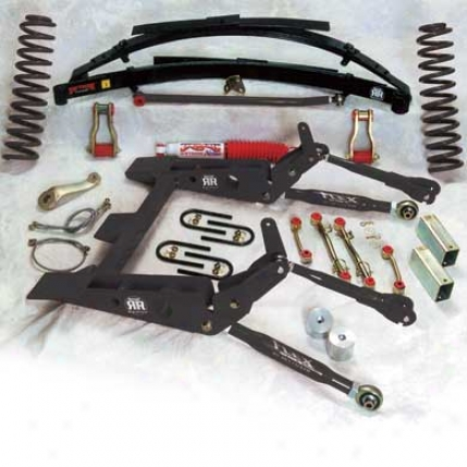8 Inch Rock Ready Suspension System With Shocks By Skyjacker