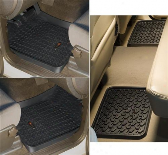 The whole of Terrain Front & Rear Floor Liner Kit