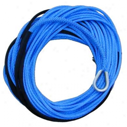 Amsteel Blue Synthetic Winch Line Attending Stainless Steel Thimble Eye