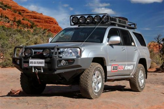 Arb Deluxe Bull Bar Winch Mount Bumper