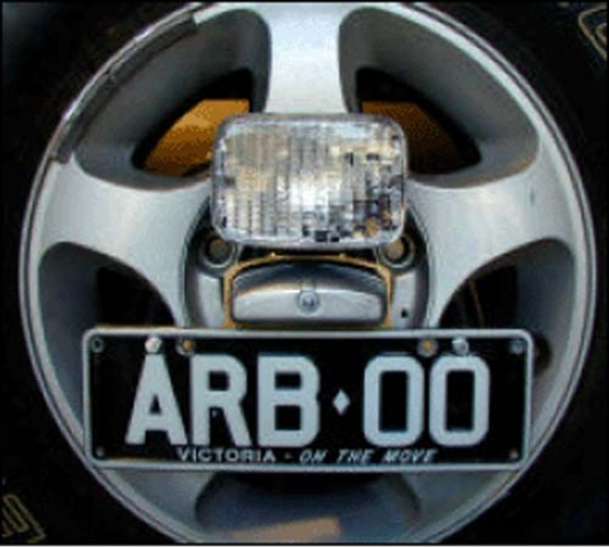 Arb Bring up Bar Reversing Light Kit