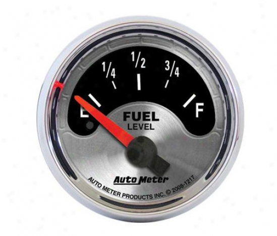 Auto Meter American Muscle Fuel Level Gauge 1217