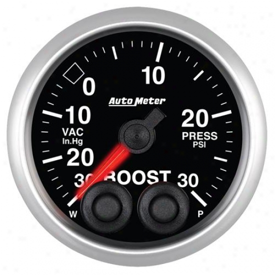 Auto Meter Elite Series Boost/vacuum Measure