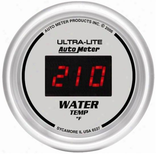 Auto Meter Ultra-lite Digital Water Temperature Gauge