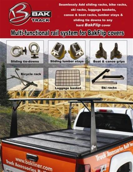 Bak Industries Bak-track Rail And Sliding Rack Kit Bt507