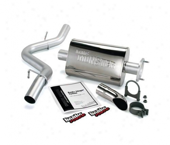 Banks 293186p Monsetr Exhaust System