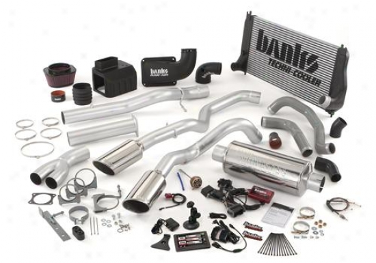 Banks Distended Hoss Bundle Playing Kit In the place of 1994-2003 Fod F Super Duty Pickup