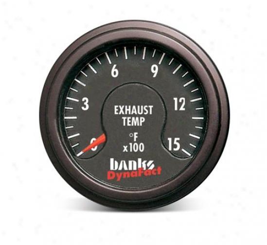 Banks Dynafact Pyrometer Gauge Kit 64200