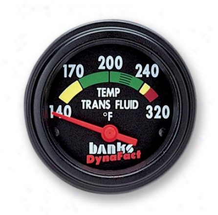 Banks Engine Oil Temp Gauge