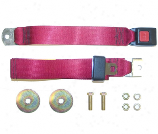 Beam's Industtries Inc Standard 60 Lap Belt By Omix F0721-63173