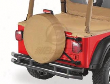 Bestop 28 Inch Tire Cover, Spice