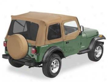 Bestop Jeep Supertop Soft Top 54600-37 Black Denim