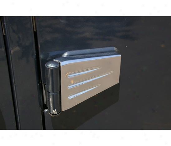 Assign  Hinge Cover By Asm Billet Aluminum Accessories