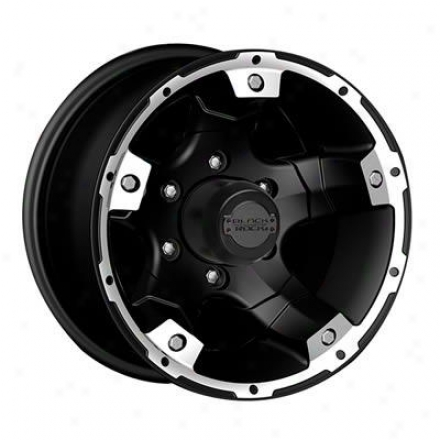 Black Rock Series Wneels 900b Viper - Satin Matte Black