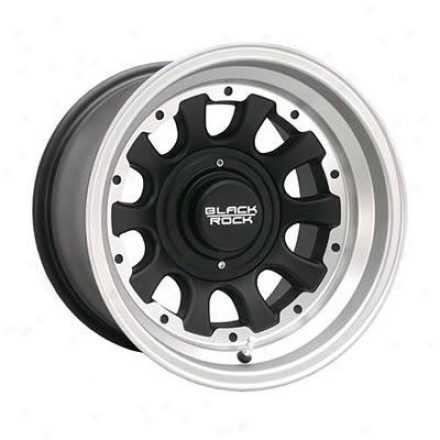 Black Rock Succession Wheels 909s Type D - Tungsten Silver
