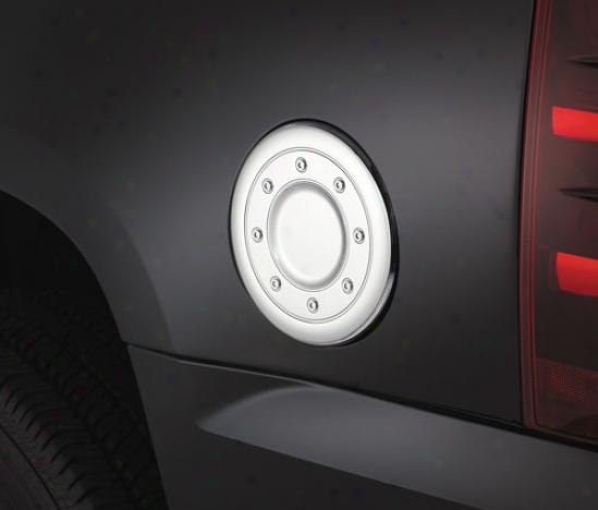 Chrome Fuel Door Cover
