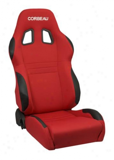 Corbeau Racing Seats A4 Red Cloth