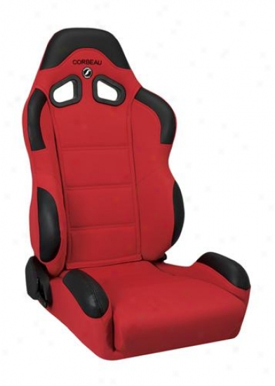Corbeau Seats Cr1 Red Cloth