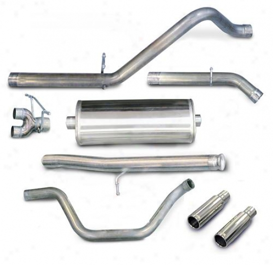 Corsa Performance Exhaust Corsa Db Series Cat-back Exhaust System 24405
