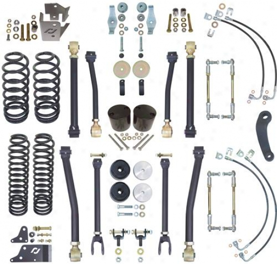 Currie Enterprises 4 Rockjock Suspension System
