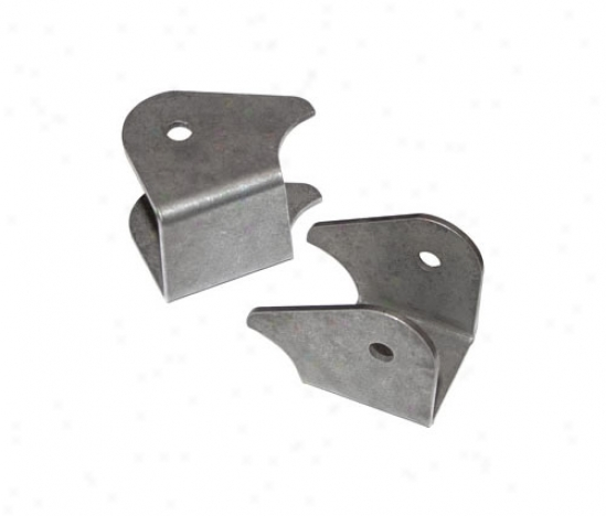 Currie Enterprises Hd Front Lower Ascendency Arm Brackets (weld-on)