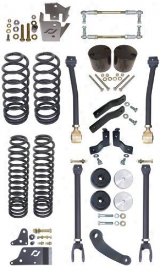 Currie Rockjock Standard Jeep Jk 4 Icnh Lift Kit