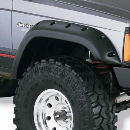 Cut-out Style Fender Flares By Bushwacker