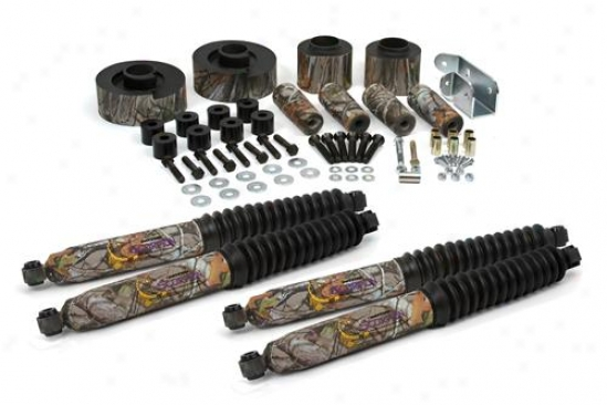 Daystar 3 Inch Camouflage Comfortride Lift Kit With Daystaf Scorpion Shocks