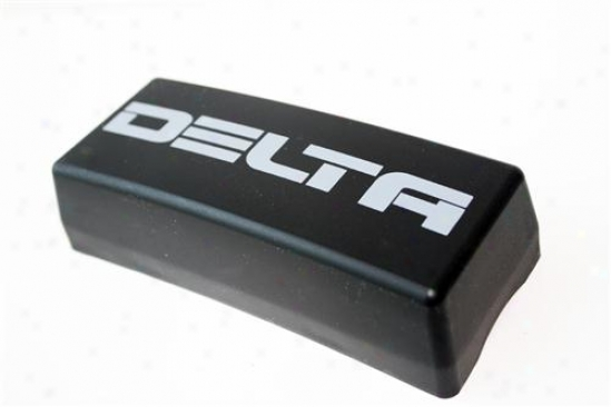 Delta Industries Delta 45h Series Lens Cover - Black Rectangular 04-4500-08