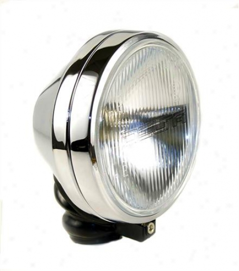 Delta Industries Delta 500 Series Long Range Light Kit - Chrome (steel Housing) 01-6159-50cx