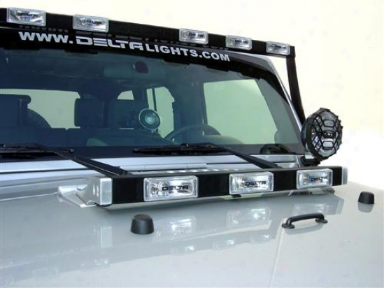 Delta Industries Hood Light Bar By Delta  01-9520-3bx