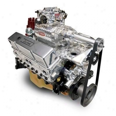 Edelbrpck E-force Rpm Supercharged 350 C.i.d. Crafe Engine 9.5:1 Compression