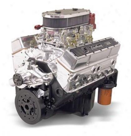 Edelbrock Performer Rpm Air-gap Hi-torq Dual-quad 350 C.i.d. Crate Engine 9.0: 1Compression