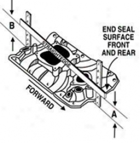 Edelborck Rpm Air Gap 340/360 Intake Manifold